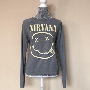 Tops - Nirvana Grey Sweatshirt